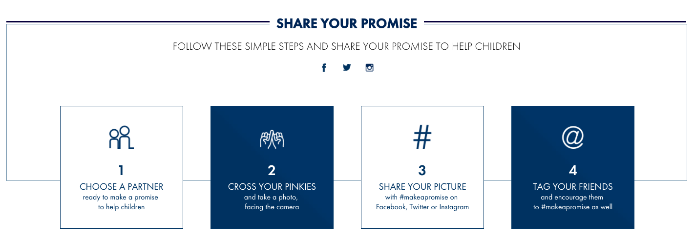 Make A Promise Instructions