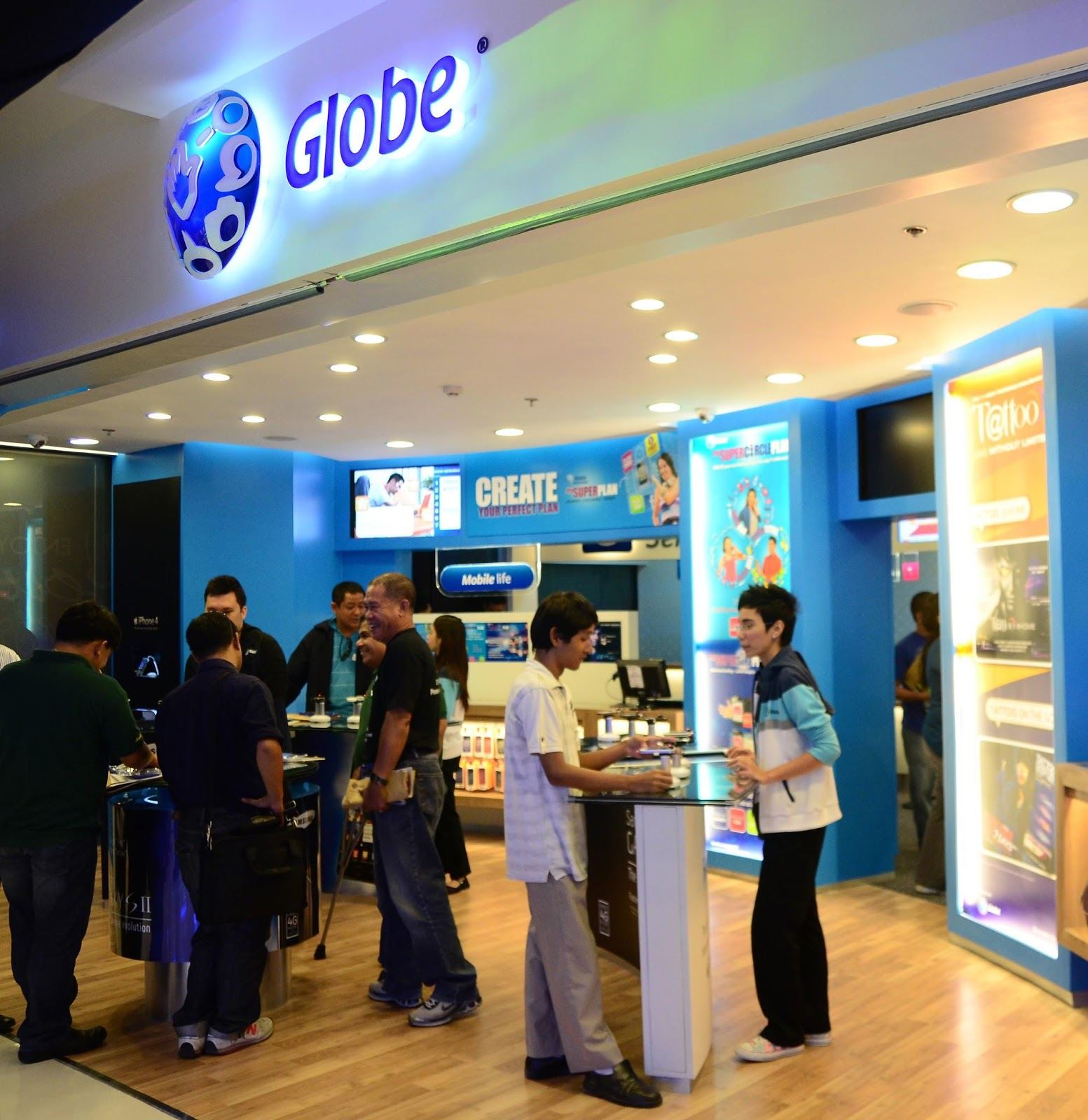 Globe Telecom Customers