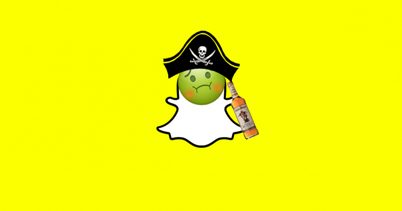 Captain Morgan's filter was quickly pulled