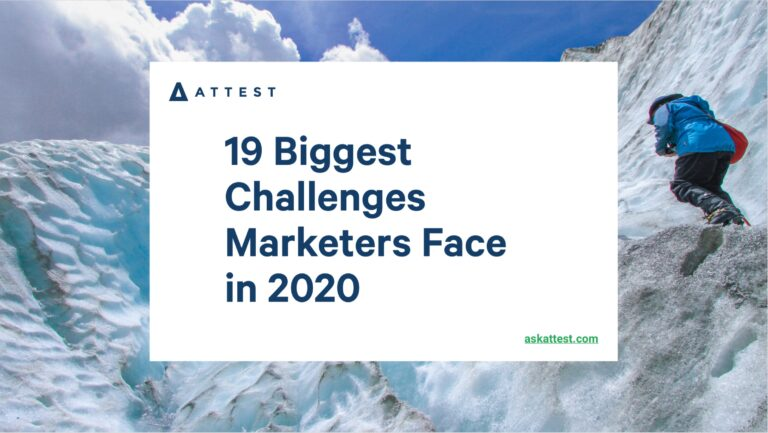 The 19 Biggest Challenges Marketers Face in 2020
