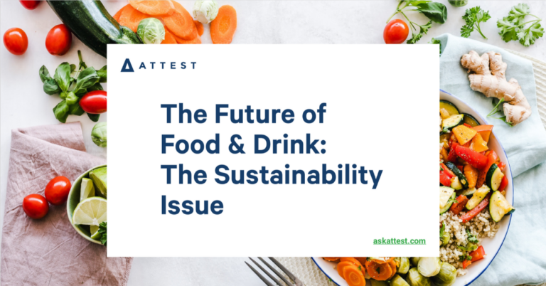 The Future of Food & Drink: The Sustainability Issue