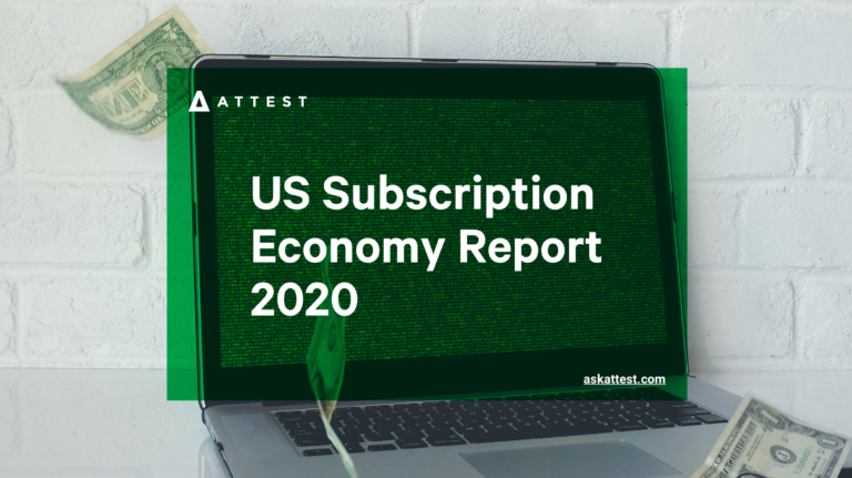 The US Subscription Economy Report 2020