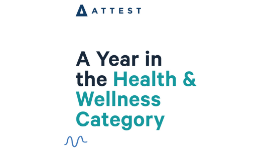 A Year in the Health & Wellness Category – Infographic