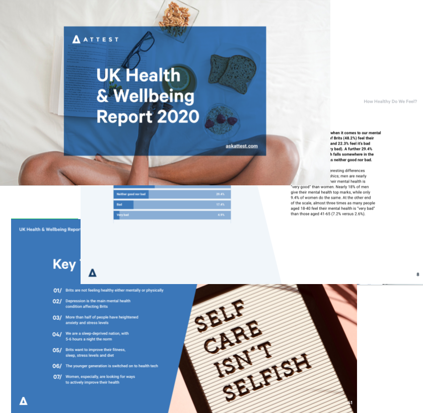 The UK Health & Wellbeing Report 2020