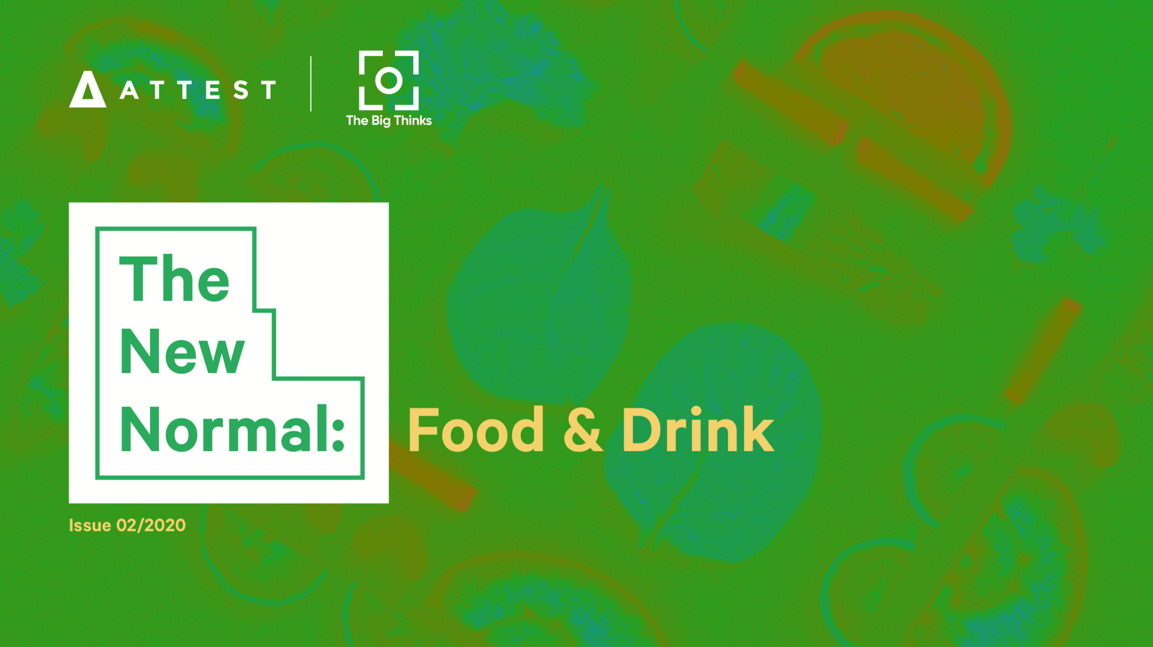 The New Normal: Food & Drink