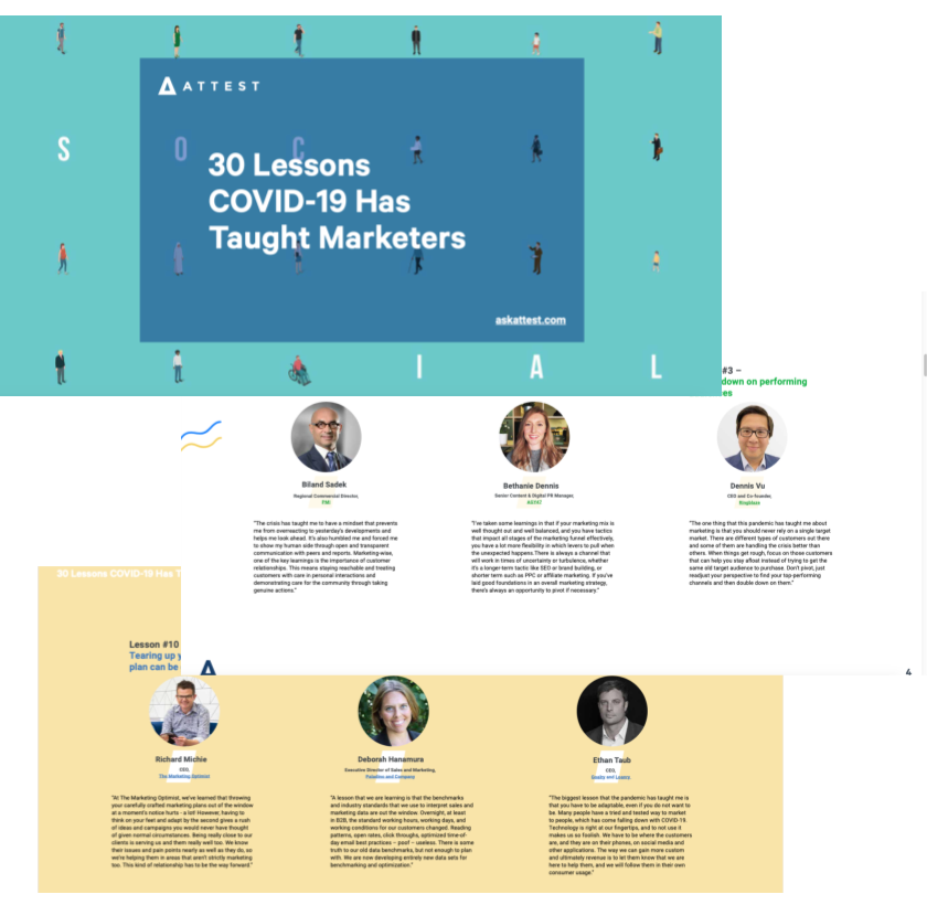 30 Lessons COVID-19 Has Taught Marketers