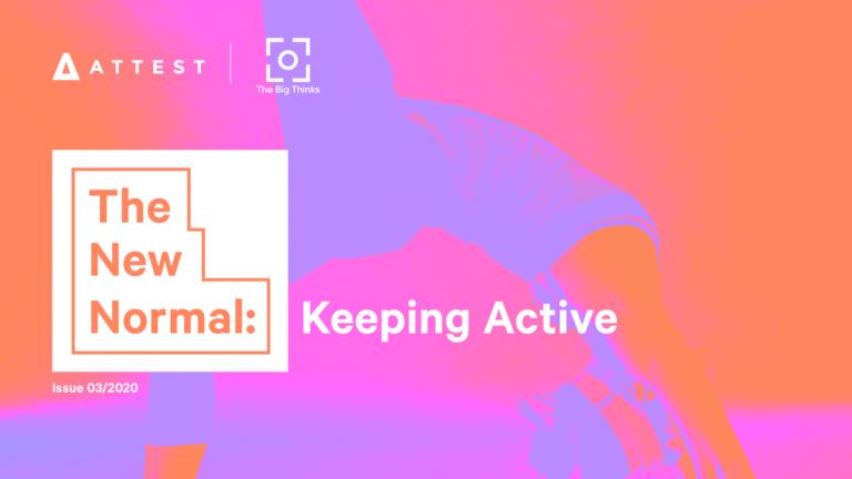 The New Normal: Keeping Active