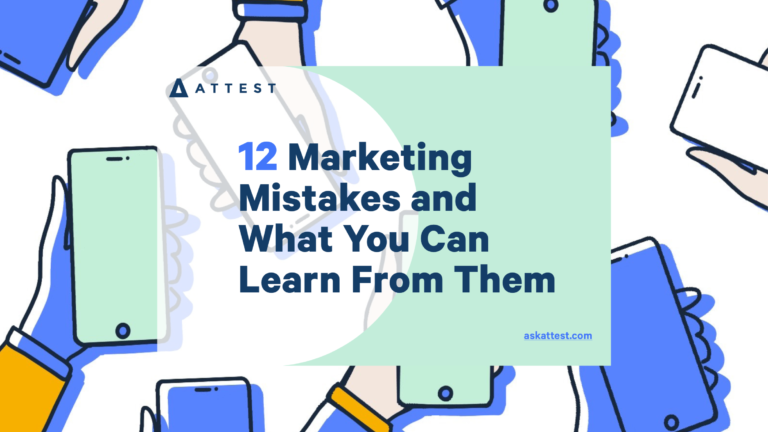 12 Marketing Mistakes and What You Can Learn From Them