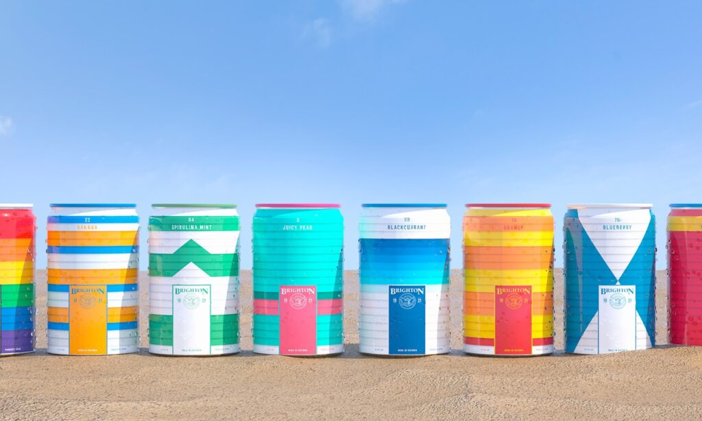 Creative packaging designs for soda