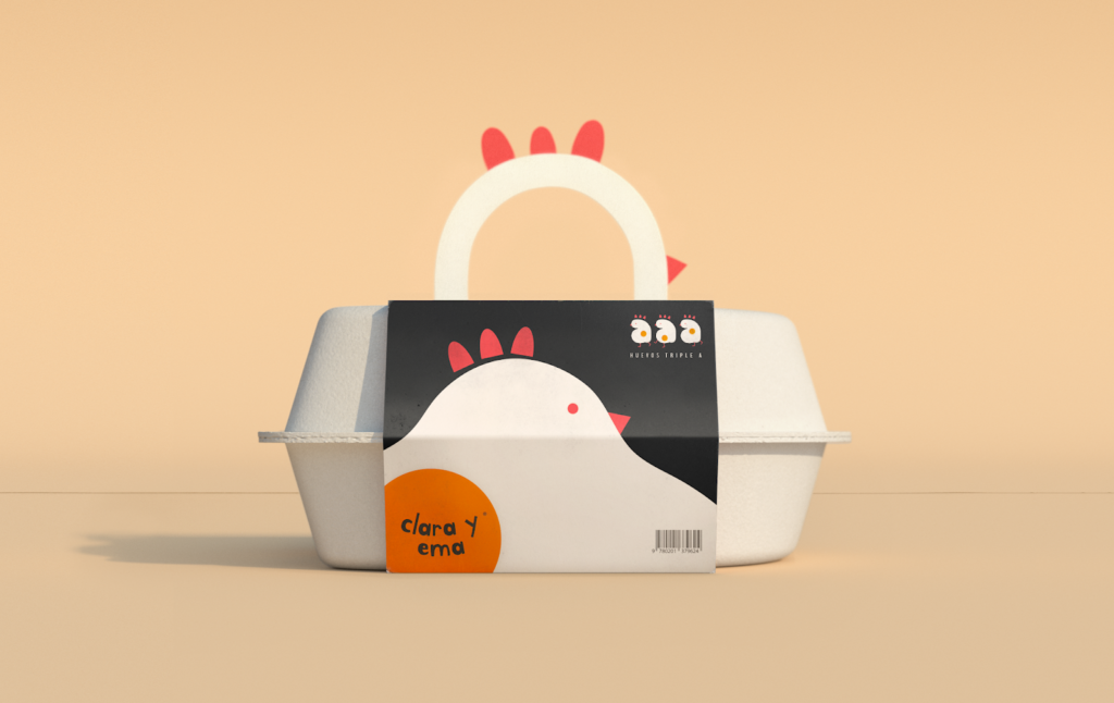 Creative packaging designs for eggs