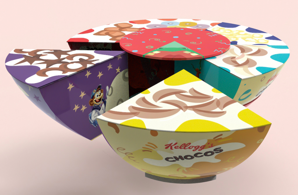 Creative packaging designs for cereal