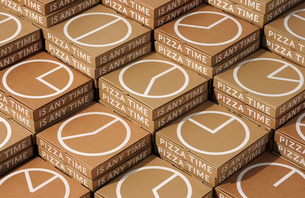 Creative packaging designs for pizza