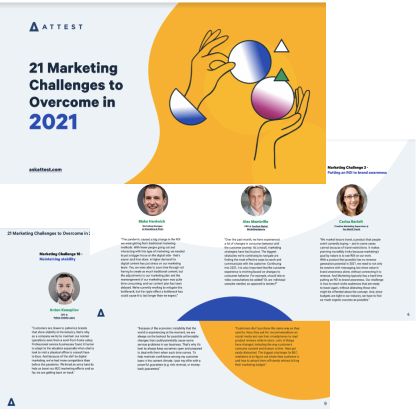 21 Marketing Challenges to Overcome in 2021