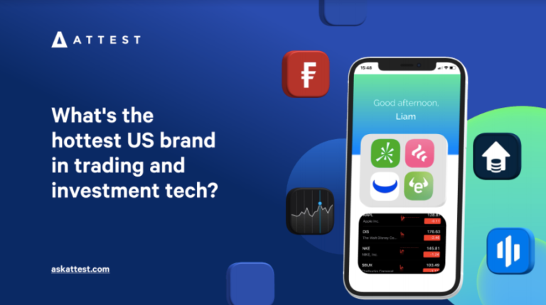 What's the hottest US brand in trading and investment tech?