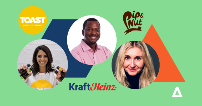 Building a sustainable brand: Q&A with Pip & Nut, Toast Ale and Kraft-Heinz