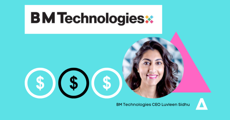 BM Technologies CEO Luvleen Sidhu on the rebundling of fintech