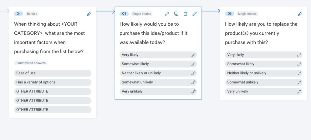 Use the Attest market analysis template to get started in seconds