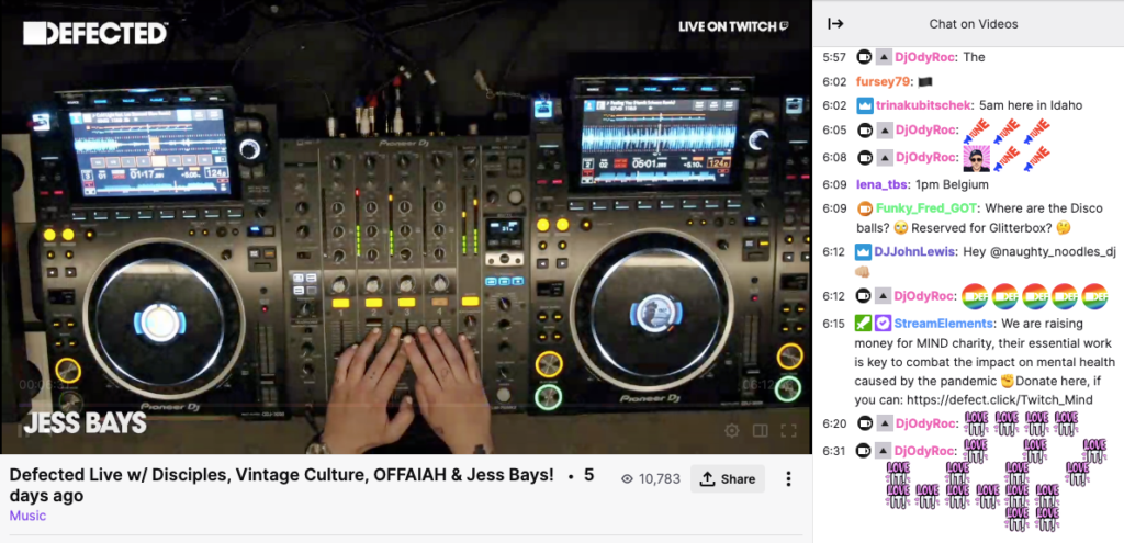 Defected Records on Twitch