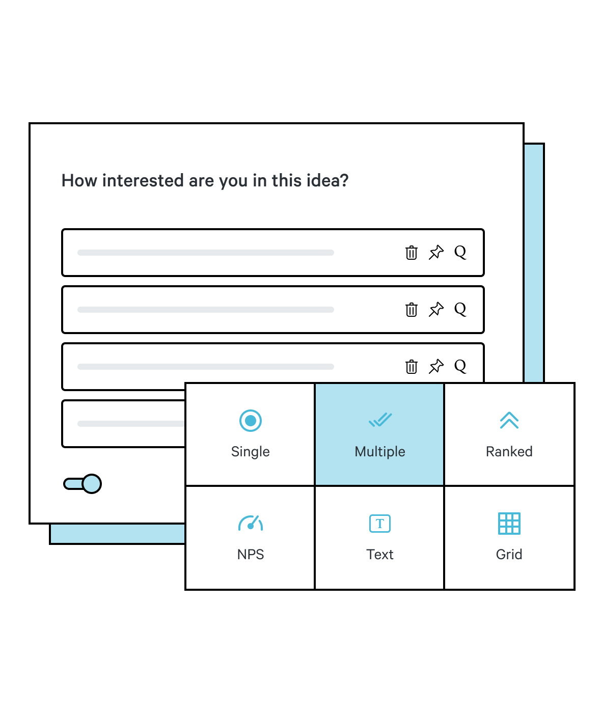 example of concept testing survey