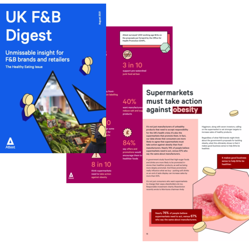 UK F&B Digest - Healthy eating issue