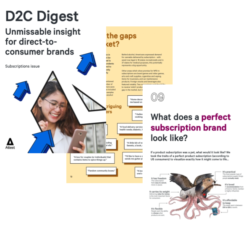 D2C Digest - Subscriptions issue